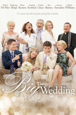 The Big Wedding movie poster (2012) poster MOV_2b7bcd6f