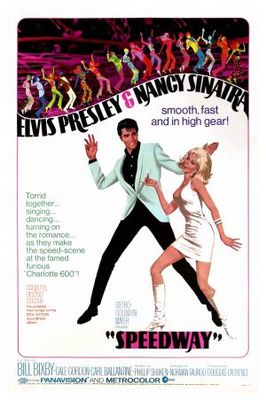 Speedway movie poster (1968) poster MOV_2b8878c0