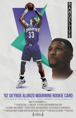 '92 Skybox Alonzo Mourning Rookie Card movie poster (2011) poster MOV_2b8a69e3
