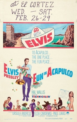 Fun in Acapulco movie poster (1963) poster MOV_2b8e4506