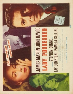 A Lady Possessed movie poster (1952) poster MOV_2b9becca