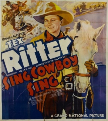 Sing, Cowboy, Sing movie poster (1937) poster MOV_2baef799
