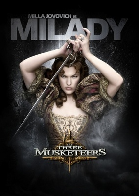 The Three Musketeers movie poster (2011) poster MOV_2bdf09c9