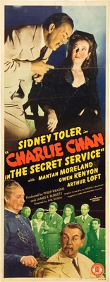 Charlie Chan in the Secret Service movie poster (1944) poster MOV_2bdf3363