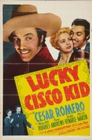 Lucky Cisco Kid movie poster (1940) picture MOV_2be4ca33