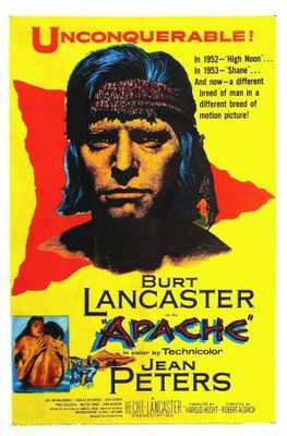 Apache movie poster (1954) poster MOV_2be55a3e