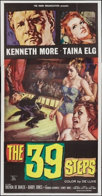 The 39 Steps movie poster (1959) poster MOV_2bf0a7af