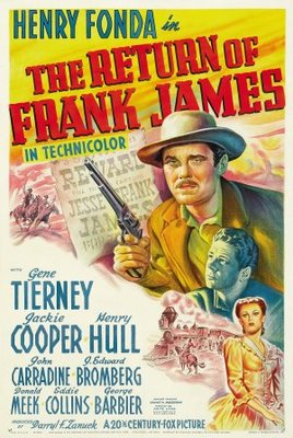 The Return of Frank James movie poster (1940) poster MOV_2bf48d7c