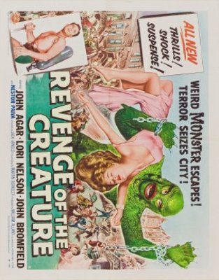Revenge of the Creature movie poster (1955) poster MOV_2bf952cf