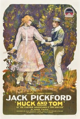 Huck and Tom movie poster (1918) poster MOV_2bfabe6d