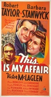 This Is My Affair movie poster (1937) picture MOV_2c172221