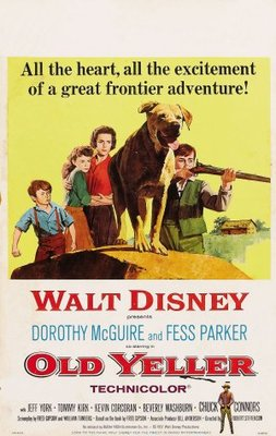 Old Yeller movie poster (1957) poster MOV_2c40b00b
