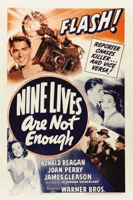 Nine Lives Are Not Enough movie poster (1941) poster MOV_2c4b62b9