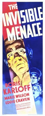 The Invisible Menace movie poster (1938) poster MOV_2c58befb