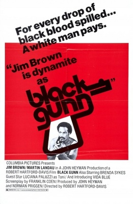Black Gunn movie poster (1972) poster MOV_2c67c6f6