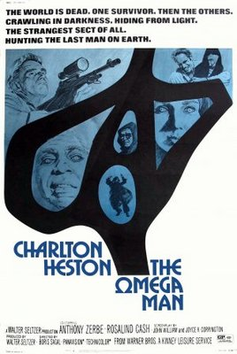 The Omega Man movie poster (1971) poster MOV_2c686f95