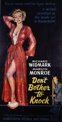 Don't Bother to Knock movie poster (1952) poster MOV_2c729587