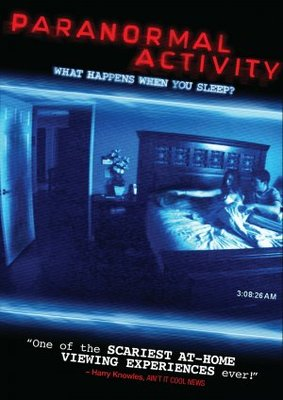 Paranormal Activity movie poster (2007) poster MOV_2c797a4b