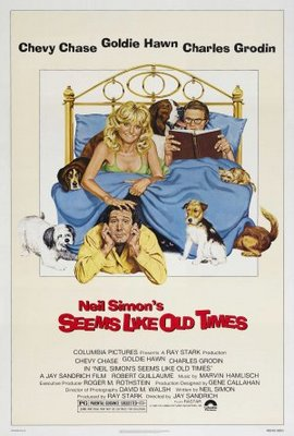 Seems Like Old Times movie poster (1980) poster MOV_2c86a270