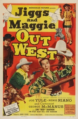 Jiggs and Maggie Out West movie poster (1950) poster MOV_2c8ec32a
