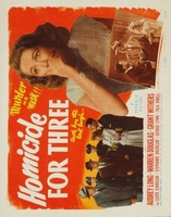 Homicide for Three movie poster (1948) picture MOV_2c970a9e