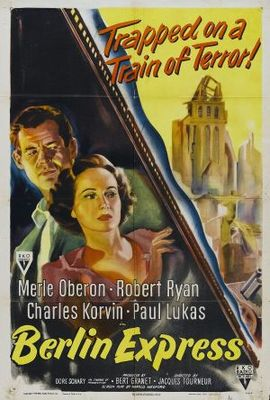 Berlin Express movie poster (1948) poster MOV_2ca503c9