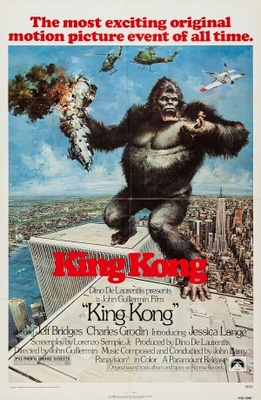 King Kong movie poster (1976) poster MOV_2ccaf983