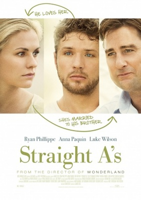 Straight A's movie poster (2012) poster MOV_2cd85ba9