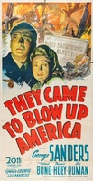 They Came to Blow Up America movie poster (1943) picture MOV_2cd9fab8