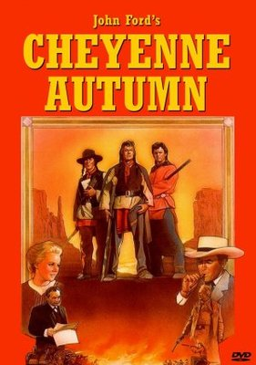 Cheyenne Autumn movie poster (1964) poster MOV_2ce0d787