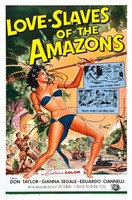 Love Slaves of the Amazons movie poster (1957) picture MOV_2cf2b530