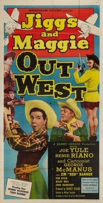 Jiggs and Maggie Out West movie poster (1950) poster MOV_2cf7225a