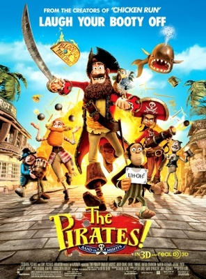 The Pirates! Band of Misfits movie poster (2012) poster MOV_2cfbd629