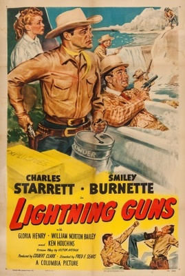 Lightning Guns movie poster (1950) poster MOV_2d020d82