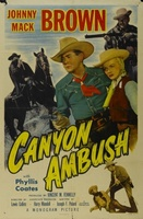 Canyon Ambush movie poster (1952) picture MOV_2d0d7884
