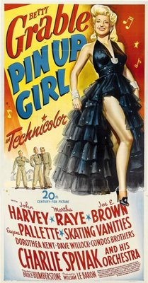 Pin Up Girl movie poster (1944) poster MOV_2d18ef17