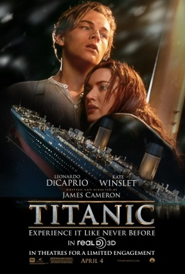 Titanic movie poster (1997) poster MOV_2d340c93