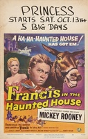 Francis in the Haunted House movie poster (1956) picture MOV_2d492098