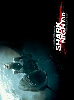 Shark Night 3D movie poster (2011) poster MOV_2d64804a