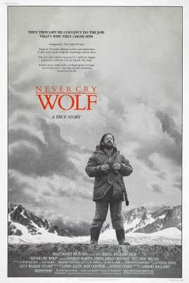 Never Cry Wolf movie poster (1983) poster MOV_2d6f720e