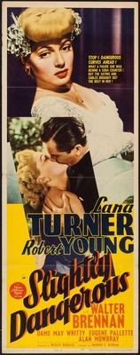 Slightly Dangerous movie poster (1943) poster MOV_2d7f0ef7