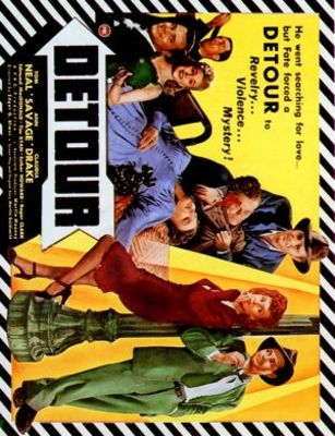 Detour movie poster (1945) poster MOV_2d9bbead