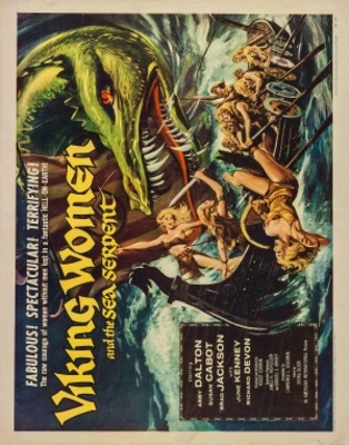 The Saga of the Viking Women and Their Voyage to the Waters of the Great Sea Serpent movie poster (1957) poster MOV_2da19ef8