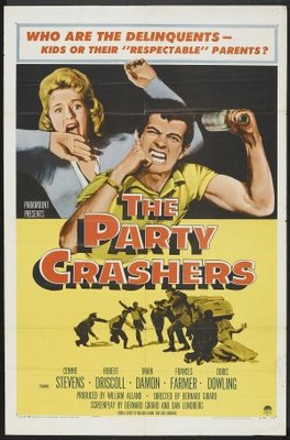 The Party Crashers movie poster (1958) poster MOV_2dae0361