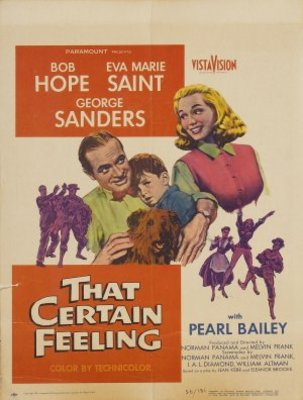 That Certain Feeling movie poster (1956) poster MOV_2dc1435b