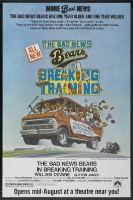 The Bad News Bears in Breaking Training movie poster (1977) poster MOV_2dc2e8f9
