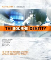 The Bourne Identity movie poster (2002) picture MOV_2dcee692