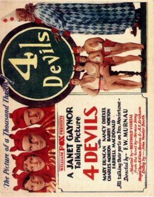 4 Devils movie poster (1928) poster MOV_2dd1c724
