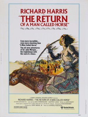 The Return of a Man Called Horse movie poster (1976) poster MOV_2dd87d5e