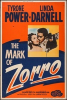 The Mark of Zorro movie poster (1940) picture MOV_2de72b1c